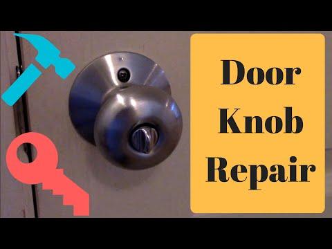 How to FIX a Stuck Door Latch and Door Knob DIY