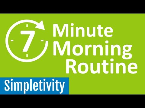 7 Minute Morning Routine ☀️ (Guided Productivity)