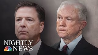 James Comey, Sessions Interviewed By Robert Mueller