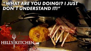 Chef Tries HIDING Burnt Meat From Gordon | Hell's Kitchen