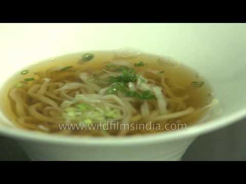 How to make Tempura udon - Japanese recipe