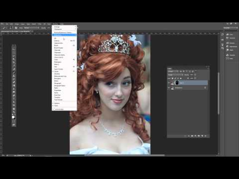33  Adding Highlights to Hair Photoshop Tutorial