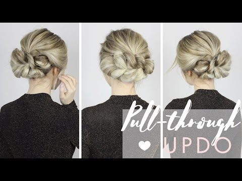 The Most Gorgeous Updo | Perfect for Long, Medium, and Short hair