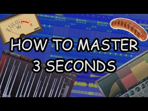 HOW TO MASTER A TRACK IN UNDER 3 SECONDS