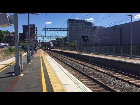 Crossrail Class 345 034 ECS Passing West Ealing, 9 Cars