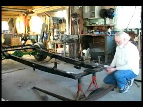 Rat Rod front axel paint and some welding