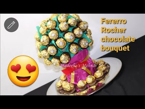 New fererro rocher chocolate bouquet