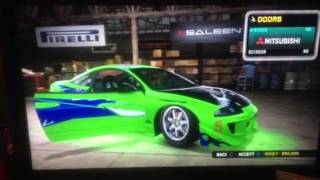 Midnight Club LA Fast And Furious Eclipse Perfect Replica