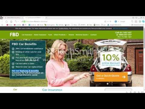 Car Insurance  Motor Insurance Quotes Online - FBD Insurance