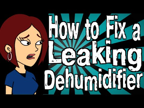How to Fix a Leaking Dehumidifier