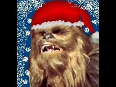 Chewbacca Sings Silent Night
