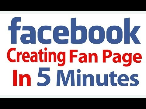 How To Create Your Facebook Fan Page In 5 Minutes For Photography Business