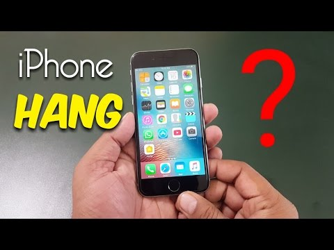 iPhone hang | What to do | Easy Solution