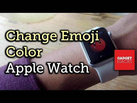 Change Emoji Colors on the Apple Watch [How-To]