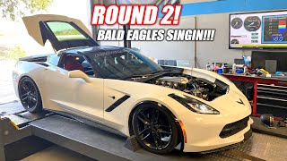 Bald Eagle Machine Dyno ROUND 2!!! We Found a MAJOR Boost Problem!! (holding back the freedom?)