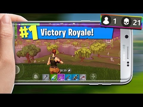 FORTNITE MOBILE LIVE! (join and hangout) *VICTORY ROYALE*