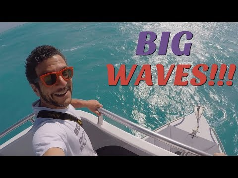 Nauseating glass-bottom boat ride in Key Largo! [travel blog]