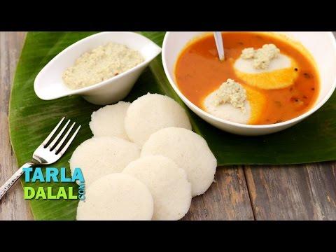 Idli, Soft Idli, Fluffy Idli, South Indian Idli by Tarla Dalal