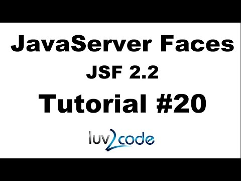 JSF Tutorial #20 - Java Server Faces Tutorial (JSF 2.2) - Validating Required Fields - Part 2