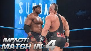 Bobby Lashley vs Brian Cage: Match in 4 | IMPACT! Highlights Mar. 29 2018