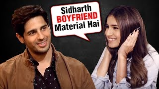 Download Tara Sutaria Finally REACTS On Dating Rumours With Siddharth Malhotra Video