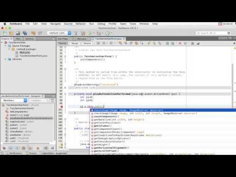 Java-GUI in Netbeans erstellen