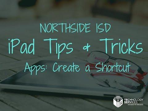 Apps: Create a Shortcut