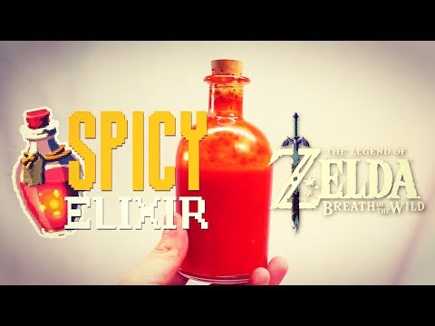 How to Make Spicy Elixir from Zelda Breath of the Wild (Sriracha)