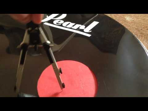 How to make bass drum porthole stronger. DIY