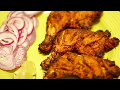 Grilled Tandoori chicken (Indian style)