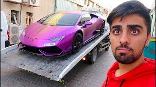 They Took her Lamborghini 😳