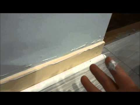 How To Fill In The Gap Between The Wall And Baseboard (EASY Tutorial)