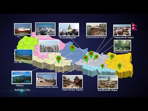 Nepal Tourist Map