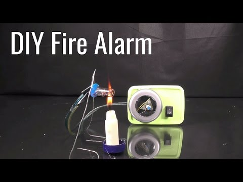 How to Make Fire Alarm Sensor & Detector at Home