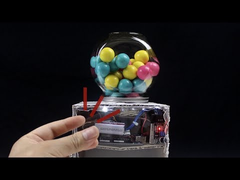 How to Make Gumball Machine Works with Finger Snapping