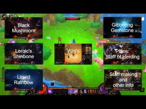 Diablo 3 - How to make the Staff of Herding - Main Menu -