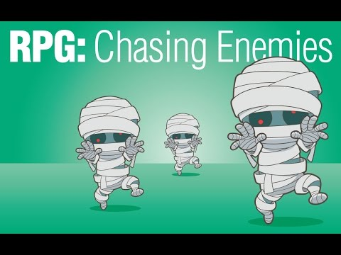 Gamesalad RPG Chasing Enemies (AI)