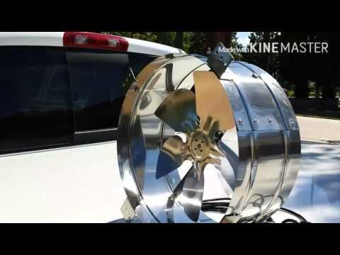 Rand Solar Attic Fan Test
