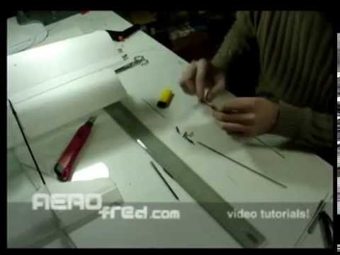 How to make an Remote Controled airplane in 3 minutes!