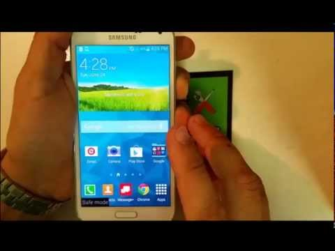 How to get Samsung Galaxy S5 IN & OUT of Safe Mode