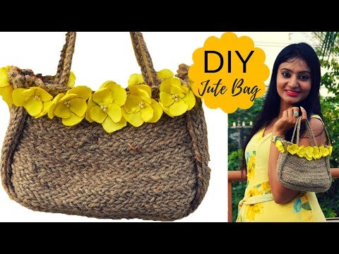 DIY Jute Bags Making at Home | Live Creative