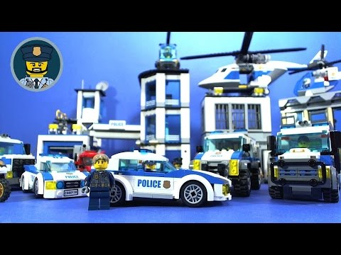 LEGO City Police Station Breakout Full Movie