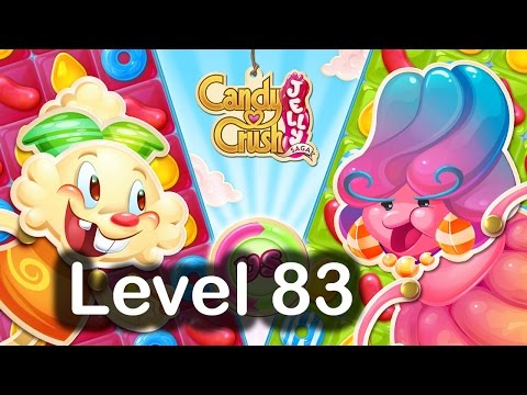 Candy Crush Jelly Saga Level 83 Hard Level