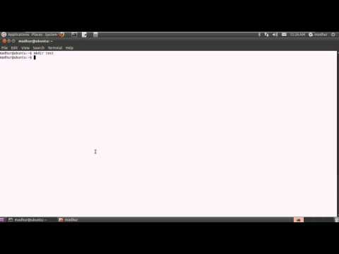 Shell Scripting Tutorial-4: Create Files & Directories