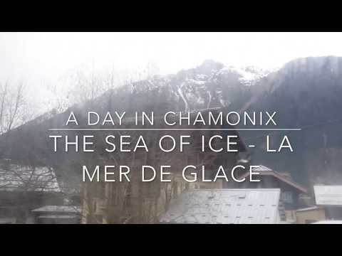 The Sea of Ice in  Chamonix ! La Mer de Glace à Chamonix