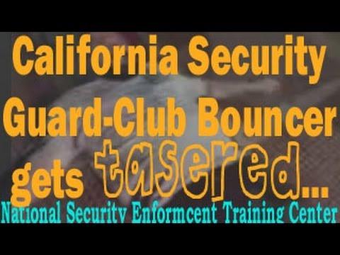 LA Club Bouncer Tasered with Taser