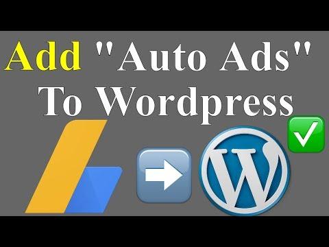 How to Setup(Add) AdSense Auto Ads in Wordpress Website & Blog in Urdu/Hindi