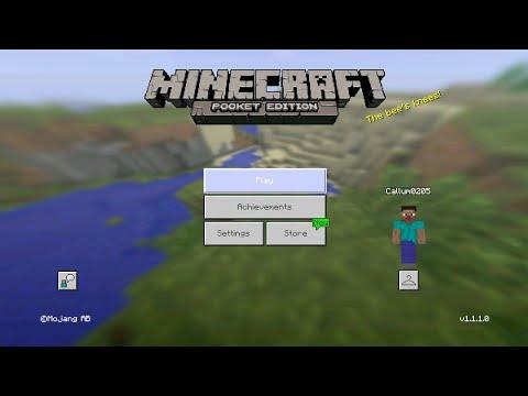 Minecraft PE 1.1.1 | MCPE 1.1.1 BETA REALESED!! + GAMEPLAY!! (Pocket Edition)