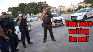 Cops Were WAITING For Me at INSANE Car Meet! (They Bought Shirts!)