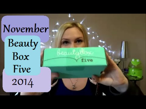 Beautybox 5 November 2014 (+GIVEAWAY -CLOSED-)